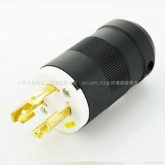 NEMA Locking Plug  L14-20P