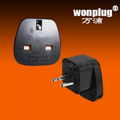 UK travel plug adapter