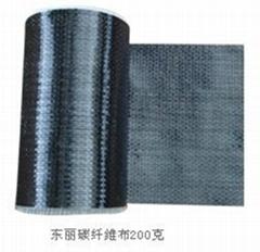 二级200g碳纤维布加固