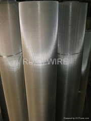 Plain Dutch Weave Stainless Steel Filter Cloth Mesh