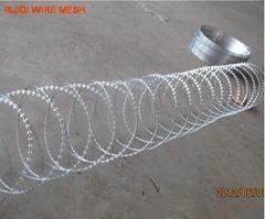 Concertina Razor Wire Coil 450mm x 8mtr