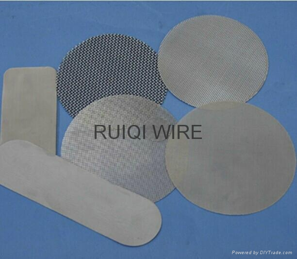 Stainless Steel Filter Cloth Wire Mesh Disc  4