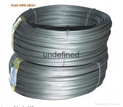 Galvanised Plain Wire Fe