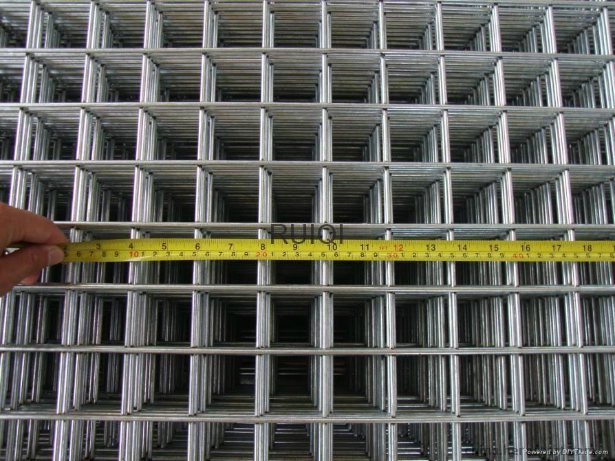 Galvanised WeldMesh Welded Steel Wire Mesh Panel - China -