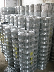 C8/80/15 Stock Fencing Galvanised Wire Mesh Netting