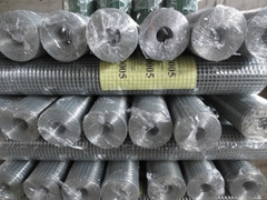 1/4 Inch Galvanized Welded Wire Mesh / Weld Mesh