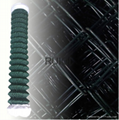 PVC Coated Chain Link Fencing Chainlink Wire Mesh Fence