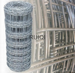 Hinged Joint Stock Boundary Farm Fening Galvanised Steel Wire Mesh