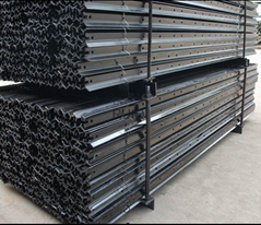 Heavy Duty Black Bituminous Star Pickets Y Steel Fence Post