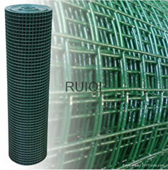 Garden Fencing Mesh Green PVC Coated Welded Wire Mesh