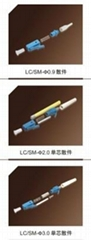 LC光纖連接器散件