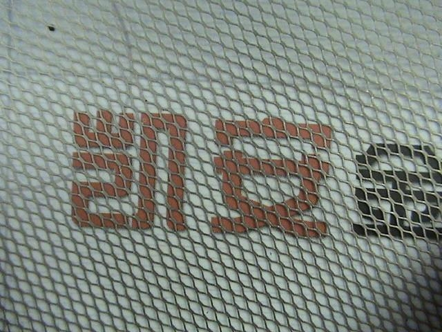 High quality nickel plate stretching net 2