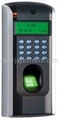 F7 Fingerprint Time Attendance Access Control Mutli-Biometric