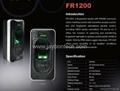 FR1200 RS485 Fingerprint Reader  Fingerprint Access Control Panel Mutli-Biotric