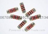 高精密金属膜无引线圆柱型晶圆电阻器