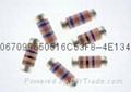 金属膜无引脚圆柱型晶圆电阻器 2
