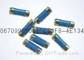 金属膜无引脚圆柱型晶圆电阻器