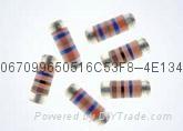 耐高压无引脚圆柱型晶圆电阻器