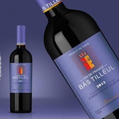 深圳创意红酒酒标设计
