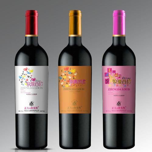 红酒标签设计 1