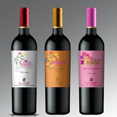 红酒标签设计