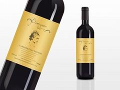高档红酒酒标设计