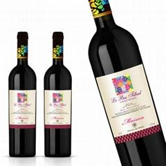 红酒酒标标签生产