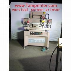 TM-D6090 Electric Precision vertical plane screen printing machine for plastic