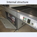 TM-UV1200 Metal UV Curing Dryer for Glass Ceramic Wood Leather textile Printing 3