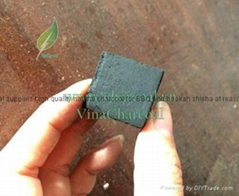 Smokeless and white ash coconut shell charcoal briquette for hookah shisha