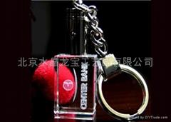 水晶鑰匙扣