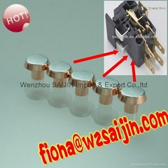 AgNi Silver Copper Bimetal Electrical Contact Rivets for 16A Wall Switches