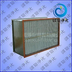 濟南耐高溫高效過濾器