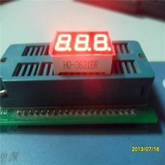 0.36英寸三位led数码管