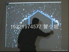 虚拟水流墙