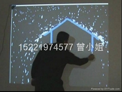 虛擬水流牆