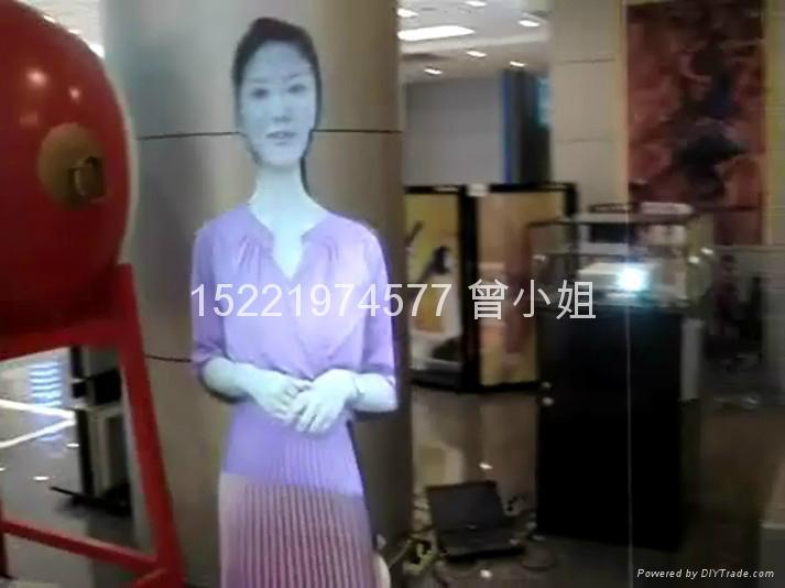 投影互動虛擬迎賓 1