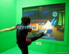 投影互動虛擬功夫拳擊