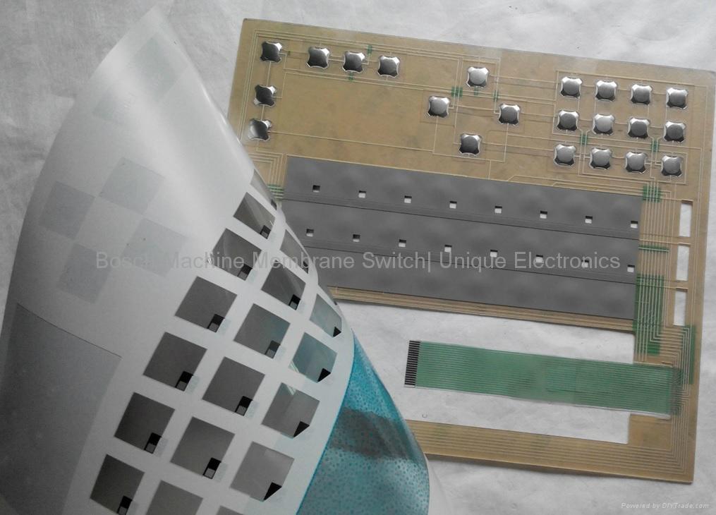 Bosch Macchina Tastiera a membrana con Metal Domes VTMS000054 4