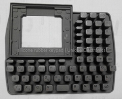 High Buttons Rubber Keypad   510208300