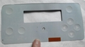 Tactile Embossed Membrane Switch with FPC Circuit   VTMS00801 5