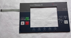 Embossed Tactile Membrane Switch with FR-4 Support Panel    BG97
