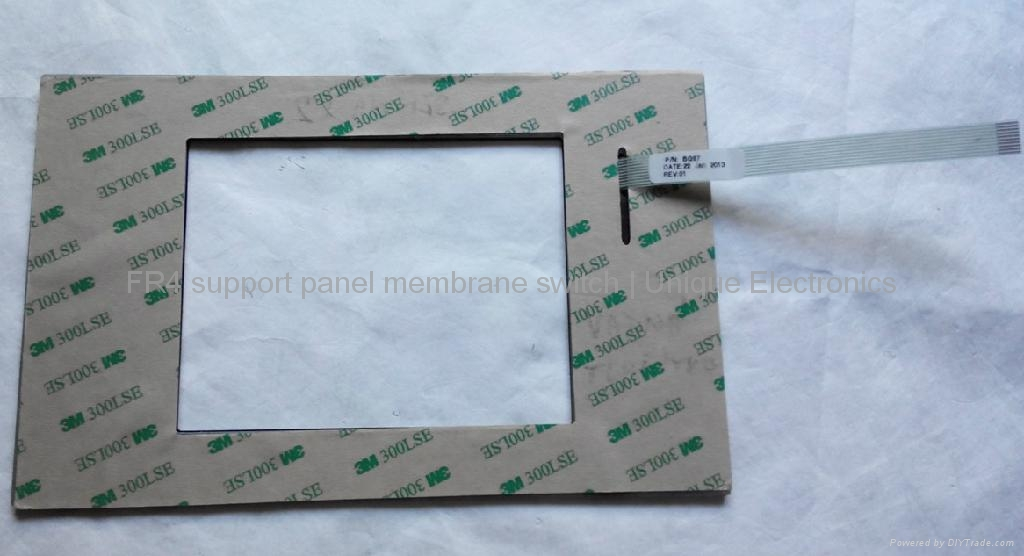 Embossed Tactile Membrane Switch with FR-4 Support Panel    BG97 2