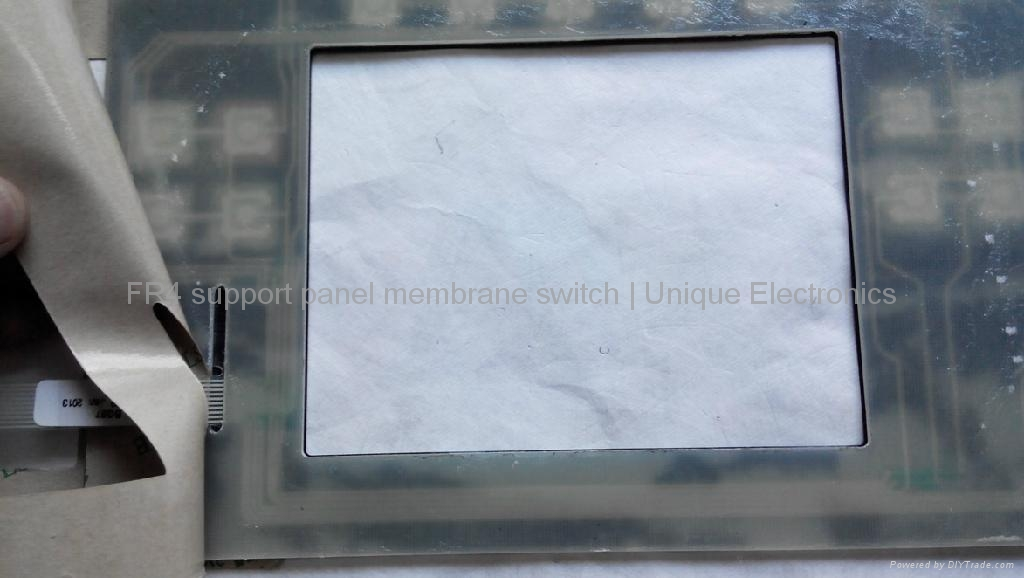 Embossed Tactile Membrane Switch with FR-4 Support Panel    BG97 3