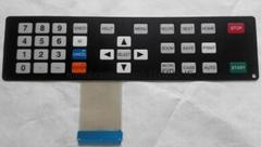 Taktile Folientastatur mit geprägtem Keys VTMS00238