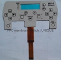 Tactile Membrane Switch with FPC Circuit, VTMS00211 2