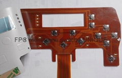 Tactile Membrane Switch with FPC Circuit, VTMS00211