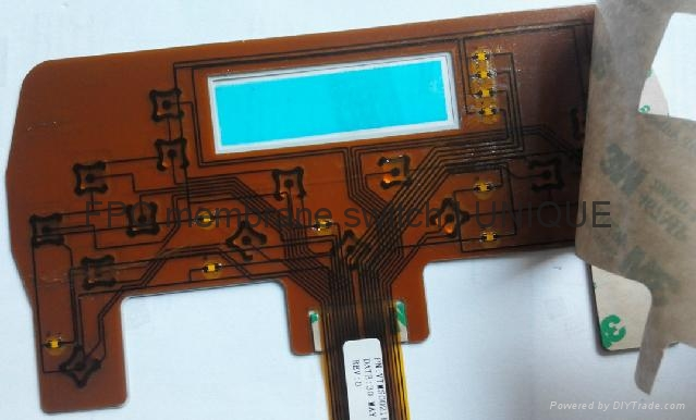 Tactile Membrane Switch with FPC Circuit, VTMS00211 4