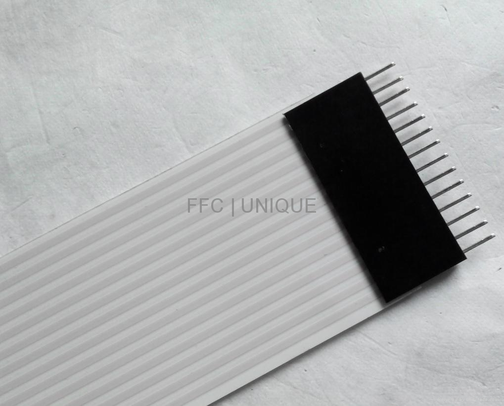 High quality 14-pin 230mm 2.54mm pitch type A FFC with connectors 172945 3