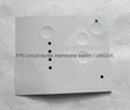 LED Backlight Tactile Membrane Switch with FPC Circuit, VTMS00315 6